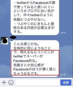 facebookはスーパー2